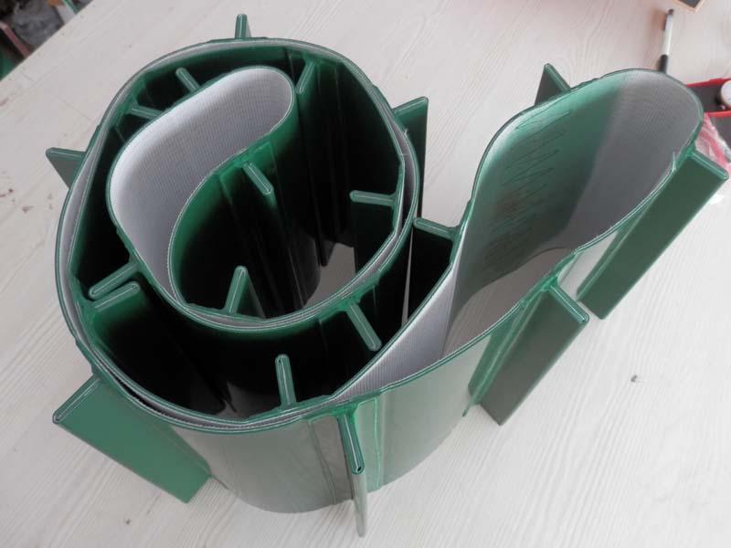 PVC加挡块输送带
