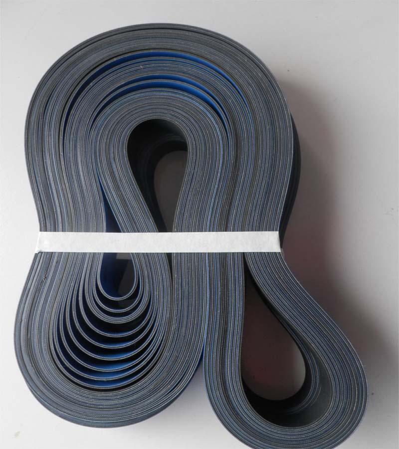 蓝色平皮带
