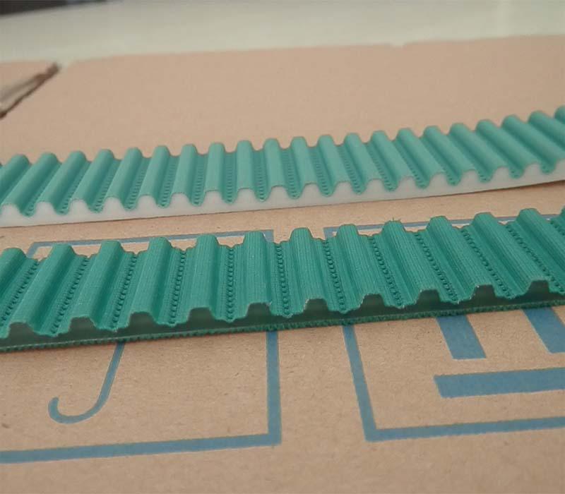 加绿布同步齿形带