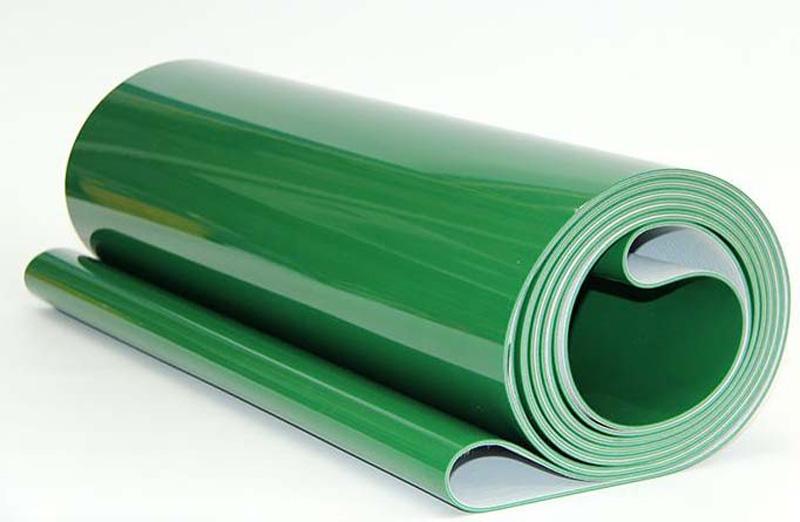 绿色输送带