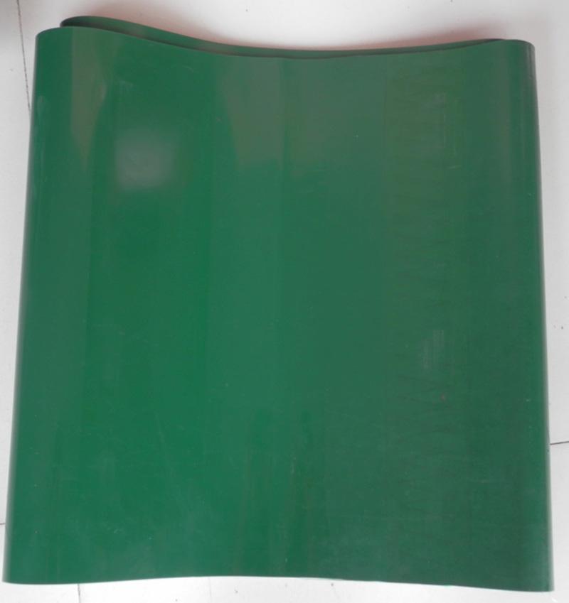 环形绿色输送带