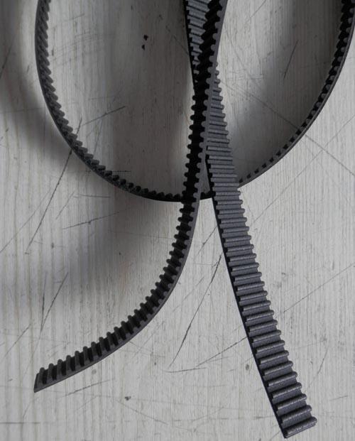 橡胶开口同步齿形带